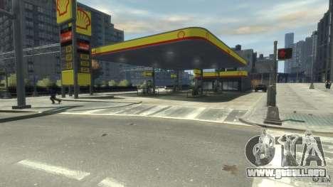 Shell Petrol Station para GTA 4