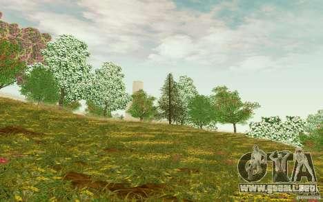 Project Oblivion 2010 Sunny Summer para GTA San Andreas sucesivamente de pantalla