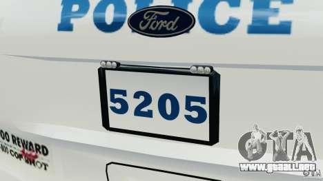 Ford Explorer NYPD ESU 2013 [ELS] para GTA motor 4