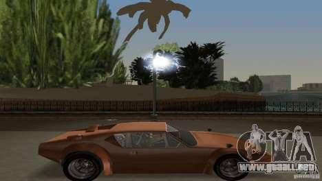 De Tomaso Pantera para GTA Vice City vista posterior