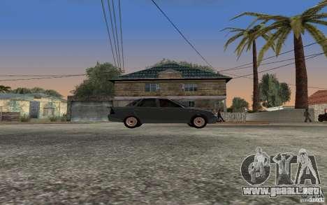 LADA priora luz tuning para GTA San Andreas vista posterior izquierda