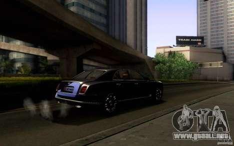 Bentley Mulsanne 2010 v1.0 para las ruedas de GTA San Andreas