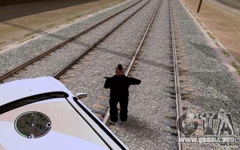 Rieles rusos para GTA San Andreas segunda pantalla