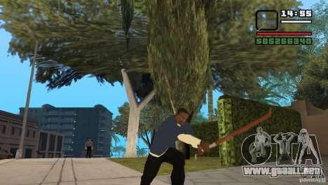 Chatarra para GTA San Andreas sucesivamente de pantalla