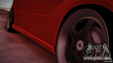 Ford Focus SVT Clean para la visión correcta GTA San Andreas