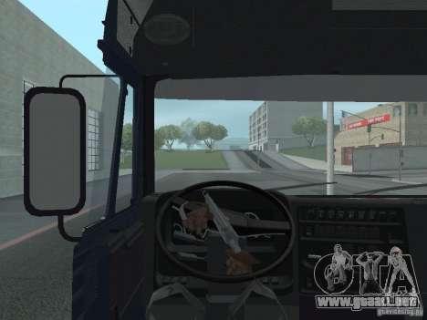 Tablero de instrumentos activos v.3.0 para GTA San Andreas quinta pantalla