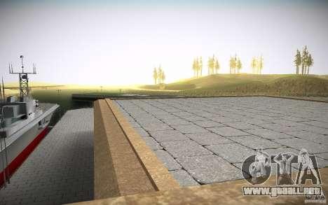 SF Army Re-Textured para GTA San Andreas sucesivamente de pantalla