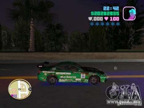 Nissan Silvia S15 Kei Office D1GP para GTA Vice City visión correcta