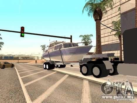 Boat Trailer para la visión correcta GTA San Andreas