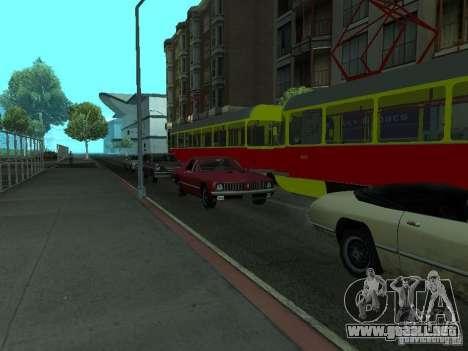 Tatra T3SU para la visión correcta GTA San Andreas