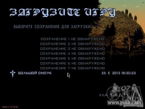 Guardar información de autorrecuperación para GTA San Andreas