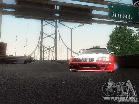 BMW M3 GTR1 para la visión correcta GTA San Andreas