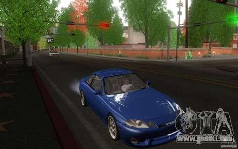 Lexus SC300 para GTA San Andreas vista hacia atrás