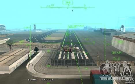 F/A-22 Velociraptor para la visión correcta GTA San Andreas