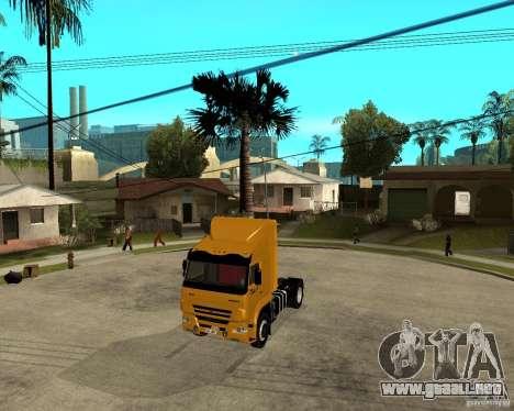 KAMAZ 5460M TAI versión 1.5 para GTA San Andreas