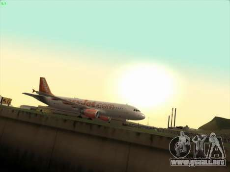 Airbus A320-214 EasyJet para GTA San Andreas left