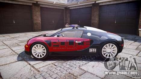 Bugatti Veyron 16.4 Police [EPM/ELS] para GTA 4 left