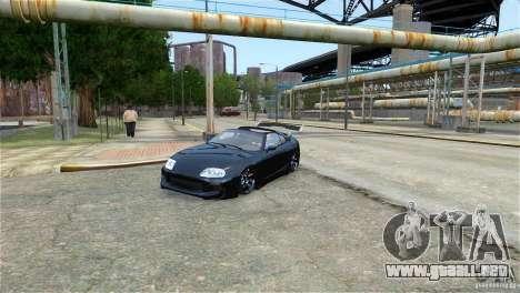 Toyota Supra RZ 1998 v 2.0 para GTA 4 left