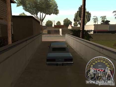 Lamborghini velocímetro para GTA San Andreas segunda pantalla