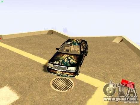 Mercedes-Benz S600 V12 para vista inferior GTA San Andreas