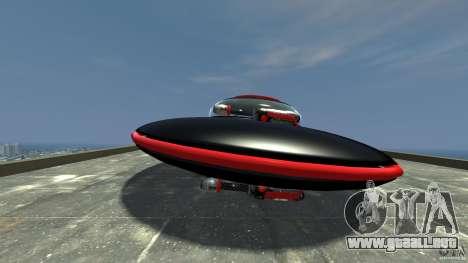 UFO neon ufo red para GTA 4 left