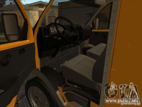 GAZ 22171 Sable para la visión correcta GTA San Andreas