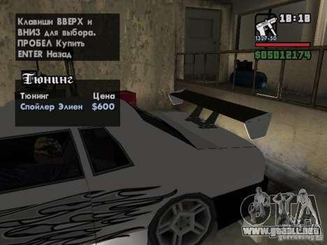 Ultra Elegy v1.0 para las ruedas de GTA San Andreas