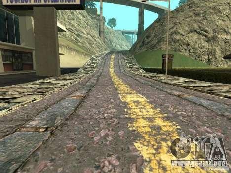 Nuevos caminos en Vajnvude para GTA San Andreas quinta pantalla