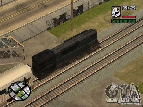 Combinar tren del juego Half-Life 2 para vista lateral GTA San Andreas