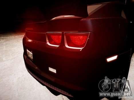 Chevrolet Camaro SS 2010 para GTA 4 vista lateral