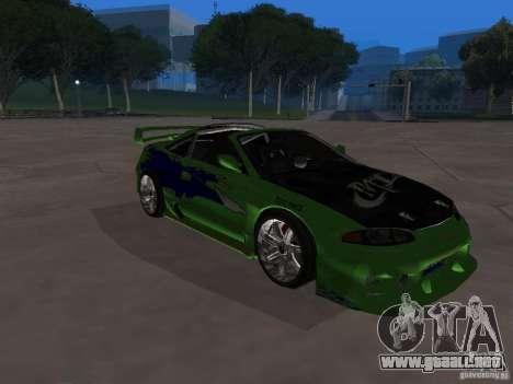 Mitsubishi Eclipse Tunable para visión interna GTA San Andreas