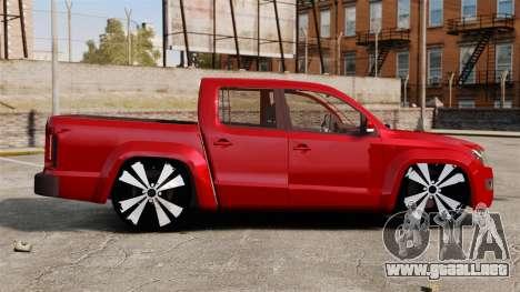 Volkswagen Amarok 2.0 TDi AWD Trendline 2012 para GTA 4 left