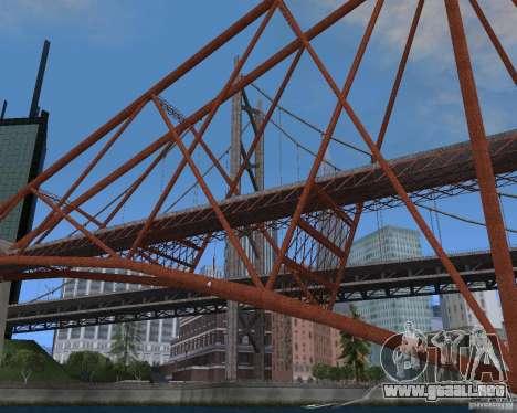 Nuevas texturas de tres puentes en SF para GTA San Andreas décimo de pantalla