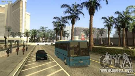 MAZ-152A para GTA San Andreas vista hacia atrás