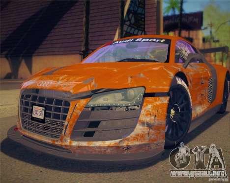GTA IV Scratches Style para GTA San Andreas tercera pantalla