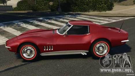 Chevrolet Corvette Stringray 1969 v1.0 [EPM] para GTA 4 left