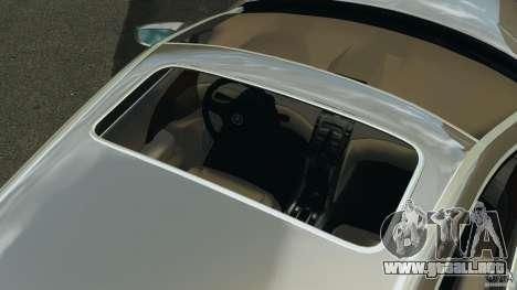 Honda Acura RL para GTA 4 vista desde abajo