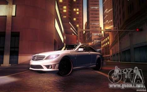 Mercedes Benz CL65 AMG para las ruedas de GTA San Andreas