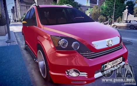 Honda CR-V Light Tuning para GTA 4 visión correcta
