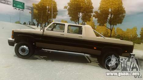 Declasse Yosemite Dually para GTA 4 left