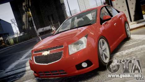 Chevrolet Cruze para GTA 4 vista interior
