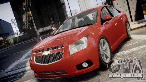 Chevrolet Cruze para GTA 4 vista interior