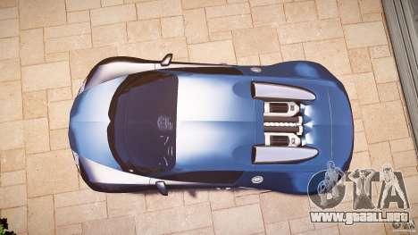 Bugatti Veyron 16.4 v3.0 2005 [EPM] Strasbourg para GTA 4 visión correcta