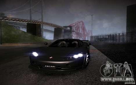 SA Illusion-S V1.0 Single Edition para GTA San Andreas sucesivamente de pantalla