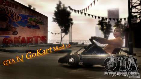 GoKart Mod 1.0 para GTA 4 left