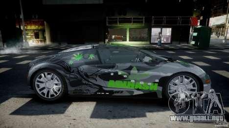 Bugatti Veyron 16.4 v1.0 new skin para GTA 4 vista interior
