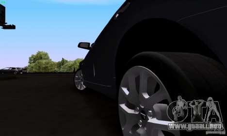 Pontiac G8 GXP para GTA San Andreas vista hacia atrás