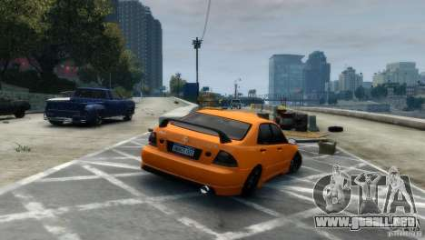 Lexus IS300 para GTA 4 left