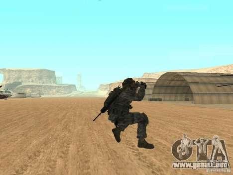 Animations v1.0 para GTA San Andreas sucesivamente de pantalla