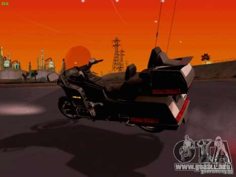 Honda Goldwing GL 1500 1990 g. para GTA San Andreas left